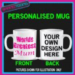 WORLDS GREATEST MUM MOTHER NOVELTY COFFEE MUG GIFT